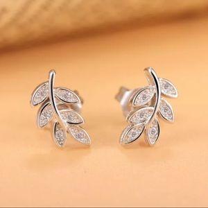 Sterling Silver 925 Stud Earrings
